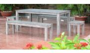 Outdoor furniture hardwood (Acacia, Eucalyptus, Teak)