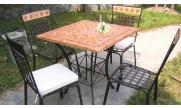 mosaic outdoor furniture